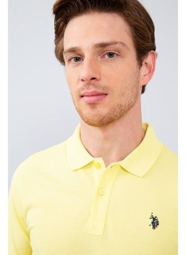 U.S. Polo Assn. Tişört Sarı